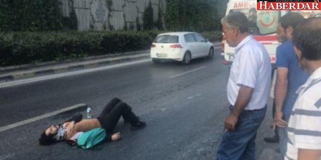 Ünlü oyuncu, eşiyle birlikte trafik kazası geçirdi!