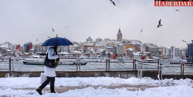 Ünlü profesör gün verdi; İstanbul'a kar geliyor!