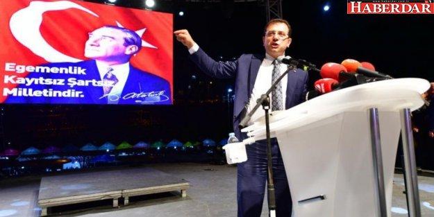 Ünlü sanatçı İmamoğlu'nun kampanyasına 100 bin TL bağışladı