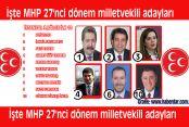 İşte MHP 27'nci dönem milletvekili adayları