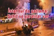 İstanbul'da patlama: Şehit ve yaralılar var