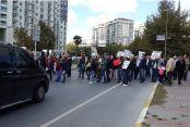 Yüksek Gerilim Hattı protestosu sürüyor...