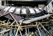 Kaymakamlık inşaatı çöktü: 3 yaralı