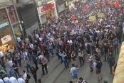 Gezi'nin yıldönümü için  toplandılar