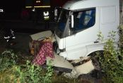 Cenaze yolunda fecii kaza: 5 ölü