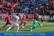 Silivrispor, GümüşhaneSpor'u  1-0 yendi