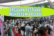 ERGUVAN FESTİVALİ MUHTEŞEM BAŞLADI