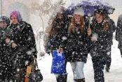 Kar yine Balkanlardan gelecek
