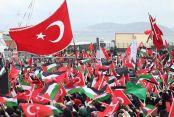 'Zulme Lanet Kudüs'e Destek' mitingi için yüz binlerce kişi Yenikapı'da!