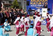Ardahan Kültür Evi binası törenle açıldı