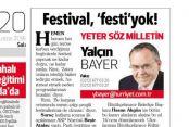 Mehmet Mert'in yazısı Hürriyet gazetesinde yayında.