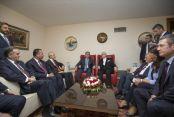 Gül, Başbakan, Meclis Başkanı ve 4 Partiyle Meclis'te Görüştü