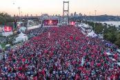 Türkiye 15 Temmuz'u anıyor....