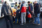 Merter'de Meydana Gelen Kaza, Trafiği Kilitledi