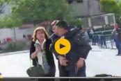 Dündar'a saldırı anının hemen sonrası:  VİDEO I