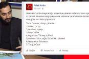 AK Parti ilçe başkanından skandal paylaşım!