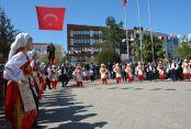 """Çatalca'da """"Uluslararası 23 Nisan Çocuk Festivali"""" başladı."""