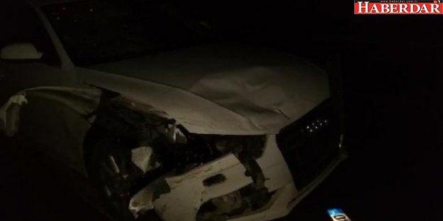 Vekilin aracı motosiklet ile çarpıştı: 1 ölü