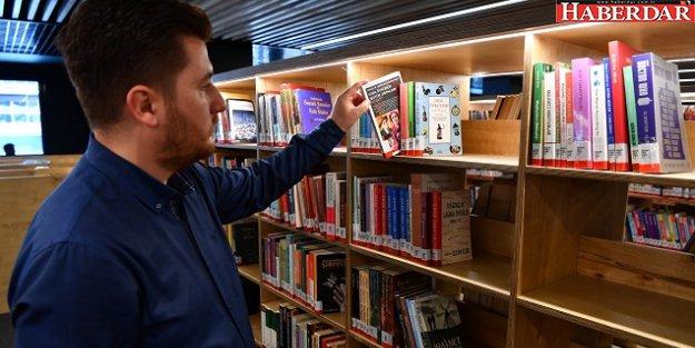 Yaşar Kemal Kütüphanesi'nde aracısız kitap ödünç alma devri
