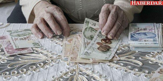 Yaşlıya 750 lira maaş
