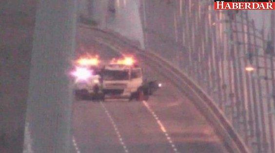 Yavuz Sultan Selim Köprüsü'nde kaza! Avrupa geçişi kapatıldı