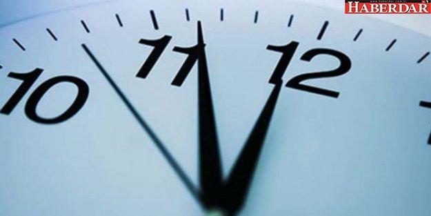 Yaz saati uygulamasında yeni gelişme!