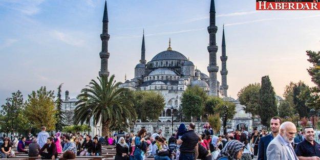 Yeditepeli şehirde milyonlarca turist