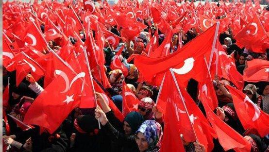 Yenikapı'da 'Teröre Karşı Tek Nefes' mitingi sona erdi