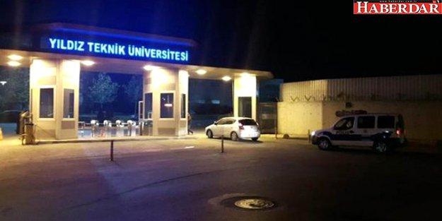 Yıldız Teknik Üniversitesi'nde 'Bylock' Operasyonu