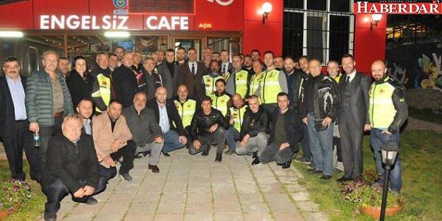 Yılmaz'dan Motosiklet Kulübü'ne destek sözü