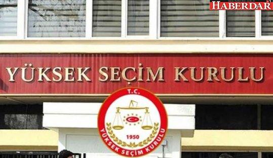 YSK'dan iki partiye liste uyarısı