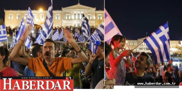 Yunanlılar kemer sıkmaya 'Hayır dedi