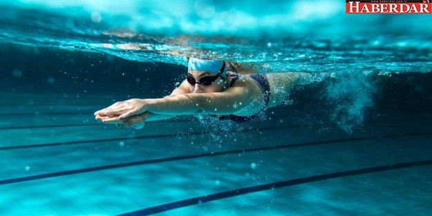 Yüzmek kalbe iyi geliyor