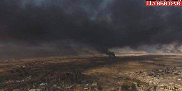Zehirli Gaz Türkiye Sınırına Geldi! Asit Yağacak