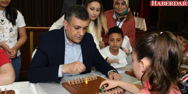 Zeki çocukları turnuvada yarıştı