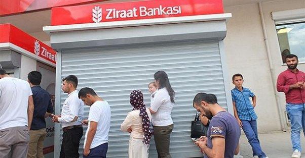 Ziraat Bankası'nın kasası boş kaldı!