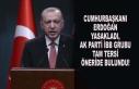 CUMHURBAŞKANI YASAKLADI, AK PARTİ İBB GRUBU TAM...