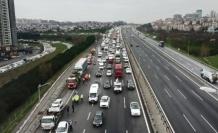 TEM Otoyolu'nda zincirleme kaza: 5 yaralı