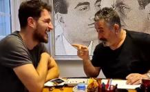 Uraz Kaygılaroğlu ile Cem Yılmaz yeni dizi projesi için buluştu