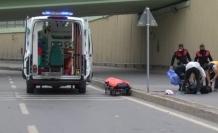 AVCILAR'DA FECİ KAZA; MOTOSİKLETTEKİ 19 VE 15 YAŞINDAKİ 2 GENÇ ÖLDÜ
