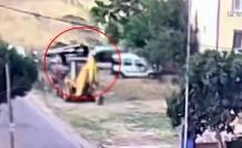 Silivri'de sahte plakalı kamyonetle 25 bin liralık hırsızlık kamerada