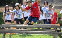 Yaz spor okulu öğrencileri izcilik yemini etti