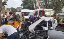 Bakırköy'de kaza sonrası cadde savaş alanına döndü: 4 yaralı