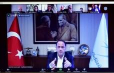 UCLG-MEWA Yönetim Kurulu Toplantısı, çevrimiçi olarak gerçekleşti