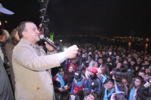 Binler Silivri'de yeni yıla merhaba dedi