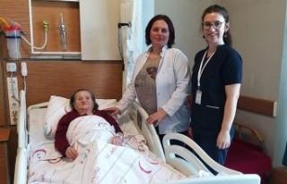 80 yaşındaki hastaya hayat verdi