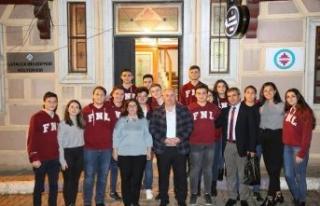 """Çatalca'da """"Gençler Başkanla Buluşuyor""""..."""