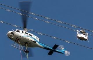 İstanbul'da elektrik helikopterlere emanet