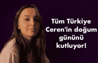 Tüm Türkiye Ceren'in doğum gününü kutluyor!