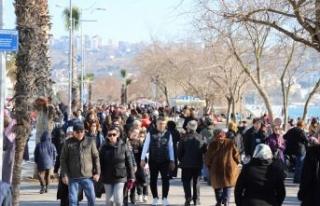 İstanbul hafta sonunda Büyükçekmece'ye akın...